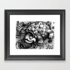 Eye Turtle Framed Art Print