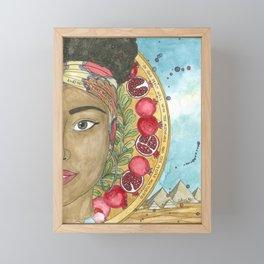 Puah Framed Mini Art Print