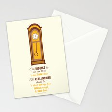 'I don't have time' Stationery Cards