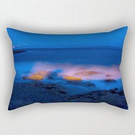 Burned Rocks Rectangular Pillow