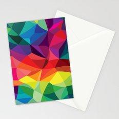 Color Shards Stationery Cards