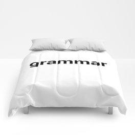grammar Comforters