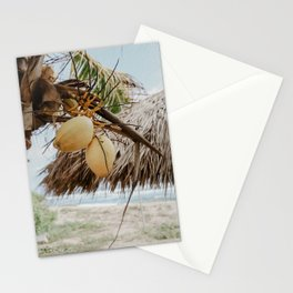 Coconut Palm Love Stationery Cards