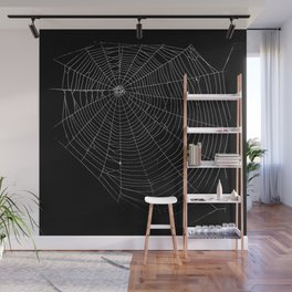 Spiders Web Wall Mural
