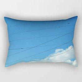 Trapeze Artists Rectangular Pillow