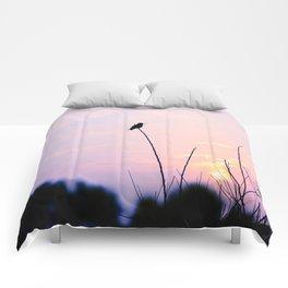 Humming Bird Silhouette  Comforters