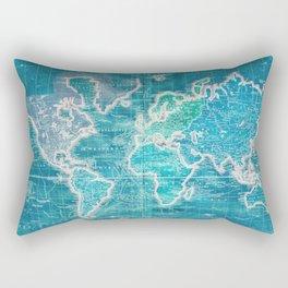 The World - Sans Type Rectangular Pillow