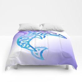 Tribal Dolphin Comforters