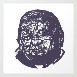 Faces, 8 Art Print