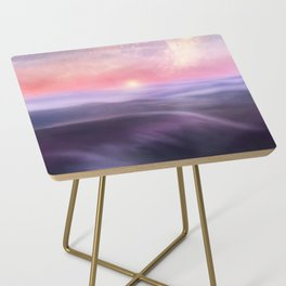 Minimal abstract landscape III Side Table