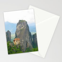 View of one of the monasteries of Meteora. Greece Stationery Cards