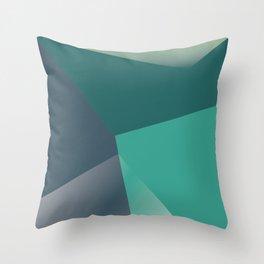 Geo II Throw Pillow
