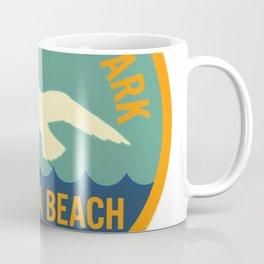 Seashore State Park Virginia Beach Camping Seagull Vintage Coffee Mug