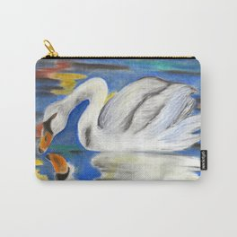 Stop Looking at Me Swan Carry-All Pouch