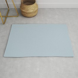 Fishing Reflection ~ Light Blue Chiffon Rug