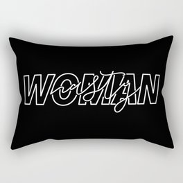 Nasty Woman Rectangular Pillow