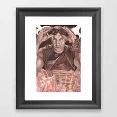 Riddick Framed Art Print