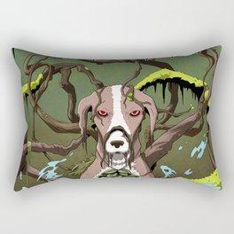 Swamp Podenka Rectangular Pillow