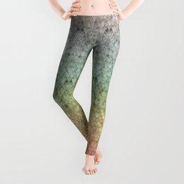 Rainbow Marble Mermaid Scales Leggings