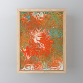 As Luck Would Have It, Abstract Art Framed Mini Art Print