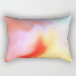 Pink sky Rectangular Pillow