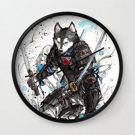 Year of the Dog...Samurai! Wall Clock