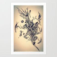 Pleasant Rhythm Art Print