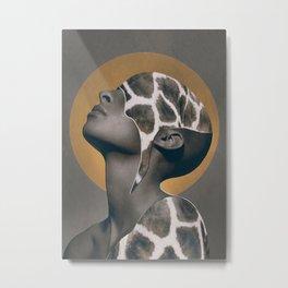 African Beauty Metal Print