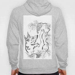 The Fox and Grapes Hoody
