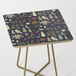 Winter Nights Side Table