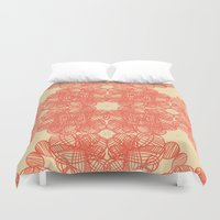 wild things Duvet Covers featuring Wild Things by monasita
