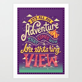 Tightrope Art Print