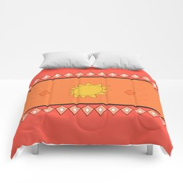 Indian style color Comforters