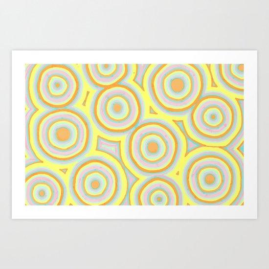 Sunny Cells Art Print
