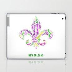 Word Cloud - NOLA Laptop & iPad Skin