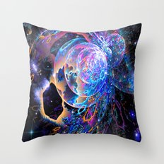 Transitory Cosmos Throw Pillow