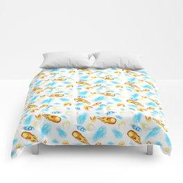 Street Fighter Ki Energy Balls Design Pattern Comforters