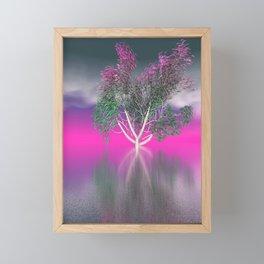 strange light somewhere -16- Framed Mini Art Print