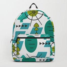 Modern green space Backpack