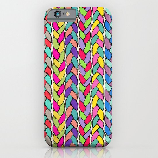 Rainbow Braids iPhone & iPod Case