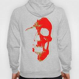 Skull - Red Hoody