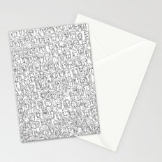 1000 imaginary friends and one bear Stationery Cards