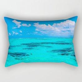 All the Blues Rectangular Pillow