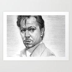 Stansfield (Gary Oldman) Art Print