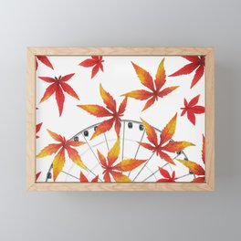 AUTUMN Framed Mini Art Print