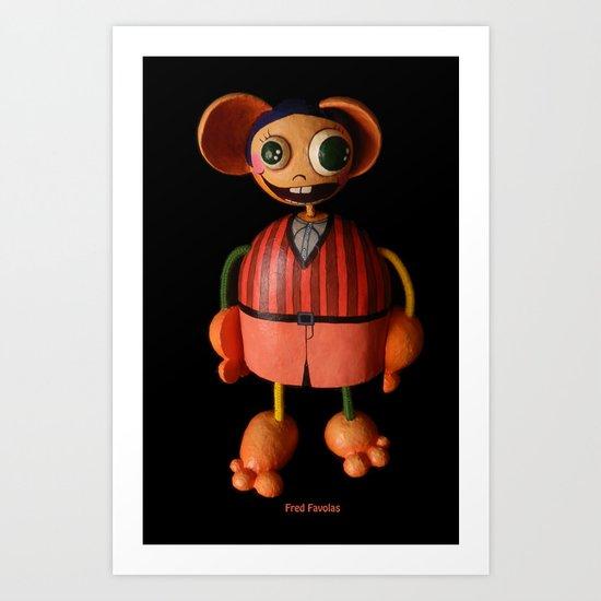 Fred Favolas Art Print