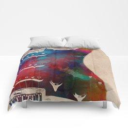 guitar art 2 Comforters