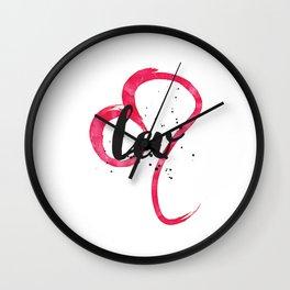 Leo Rising Wall Clock