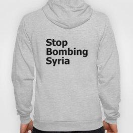 Stop Bombing Syria Hoody