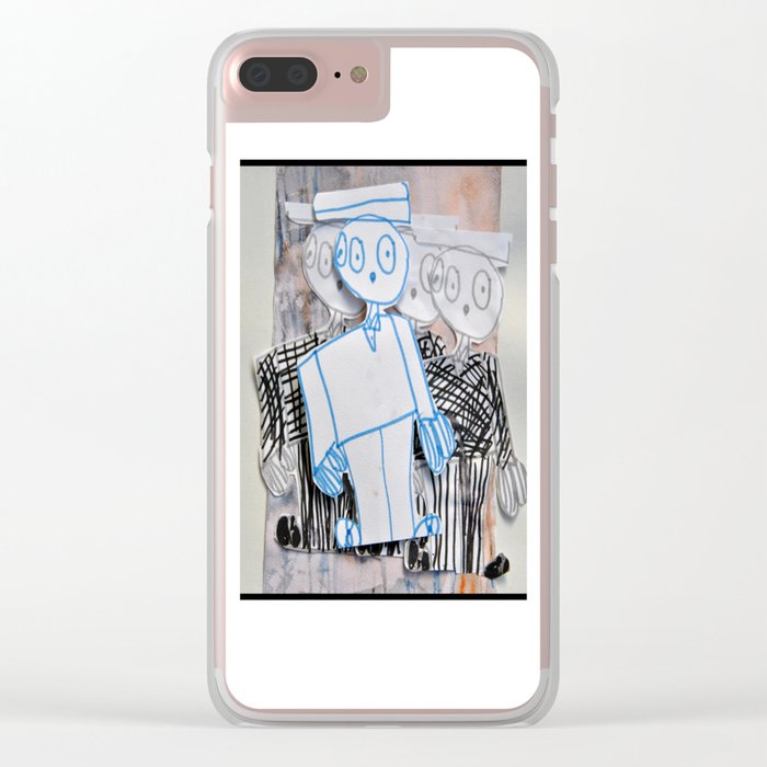 PEOPLE iN SUiTS Clear iPhone Case